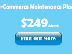 eCommerce maintenance